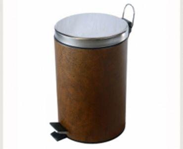 C03B 黃褐色皮革腳踏桶(5公升)