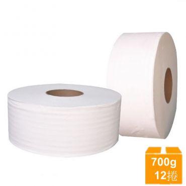 舒棉大捲衛生紙(700gX12捲/箱)